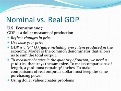nominal vs real gdp gdp