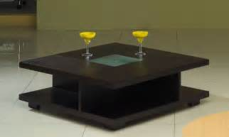 Large Black Square Coffee Table - square black wood coffee table with glass center oceanside california ah5263