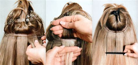 how to weave hair to top of head best hair extensions for thin and fine hair