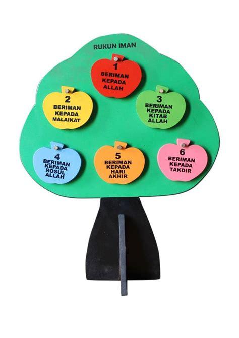 Komik Tebal Satuan pohon rukun iman mainan kayu
