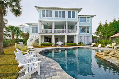 vacation house beach house rentals tybee island ga house decor ideas