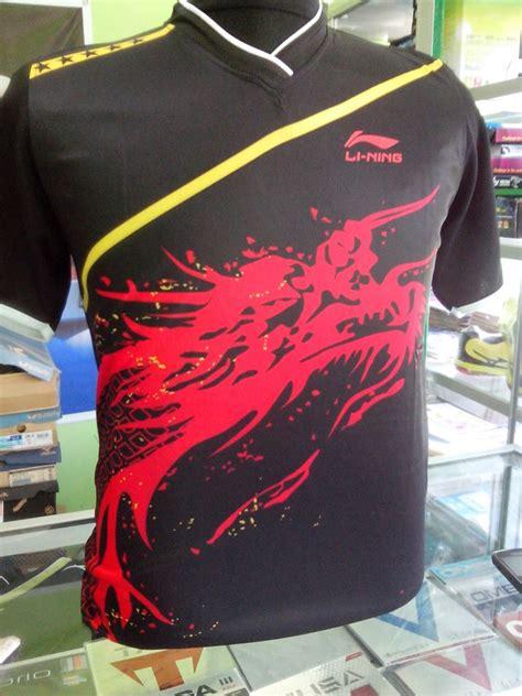 Baju Tenis Meja baju tenis meja lokal rp 75 000 pingpong parabola shop