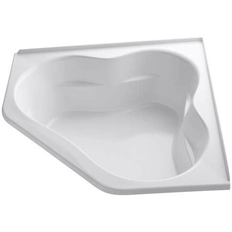 kohler corner bathtub kohler corner tub