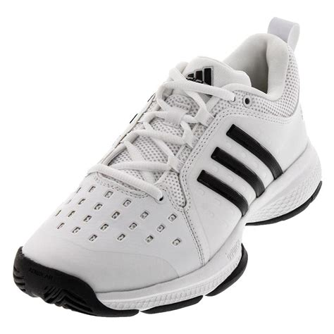Adidas Tennis Black adidas s barricade classic bounce tennis shoes white