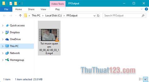 format factory khong can cai dat c 225 ch cắt video bằng phần mềm format factory