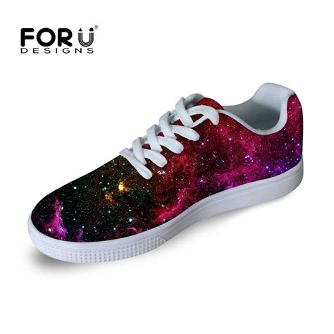Fashion Shoe 113 3 forudesigns 3d printing galaxy shoes fashion casual shoes comfortable board shoes for