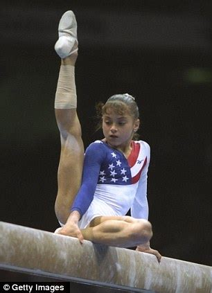 olympic gymnast dominique moceanu discovers she had a