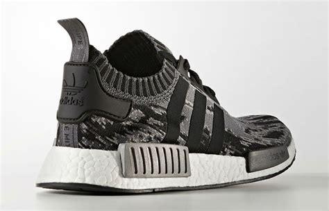 Sepatu Sneakers Adidas Nmd Black Grey adidas nmd r1 primeknit glitch camo black grey bz0223 fastsole