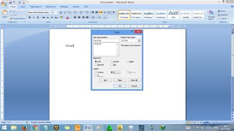 cara membuat daftar isi otomatis menggunakan tab cara membuat daftar isi otomatis di word rapi tutorial