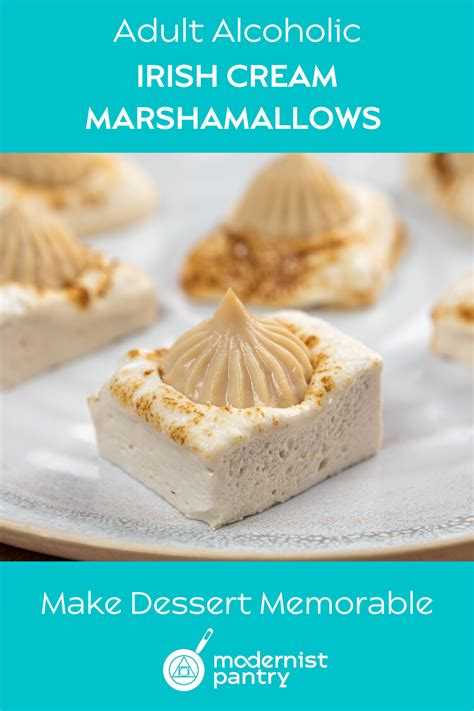 irish cream filled marshmallows recipe   food