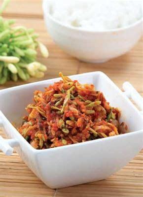 resep sambal goreng kates khas wonosobo  gambar