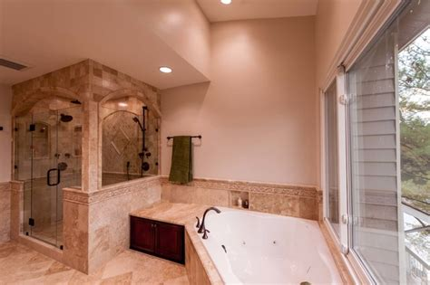 roman style bathroom roman style bath adds splendor to reston townhome
