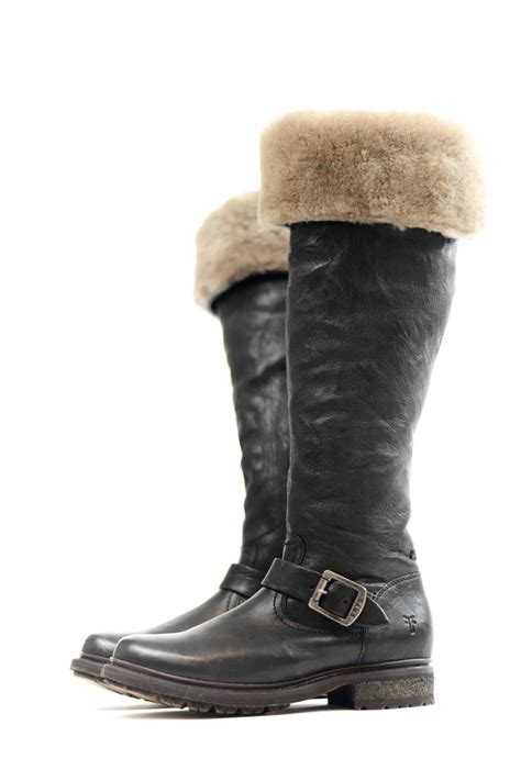 frye valerie shearling boots frye valerie shearling boot from pittsburgh by dina
