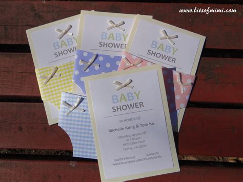 easy baby shower invitations to make theruntime com