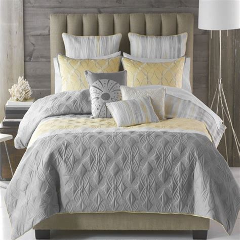 gray bed in a bag bryan keith tango 9 piece king comforter bed in a bag set