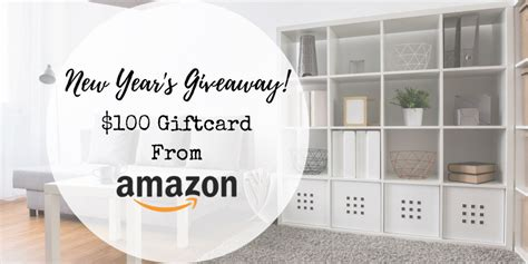 New Giveaways 2017 - new year 2017 amazon gift card giveaway chic home life