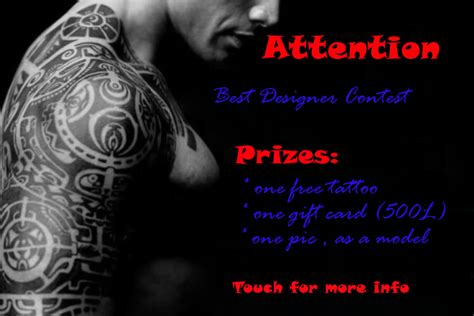 tattoo design contest v store contest the best design