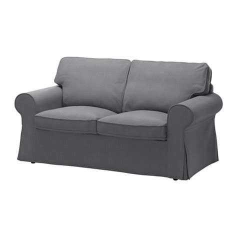 Ektorp Two Seat Sofa Nordvalla Dark Grey Ikea