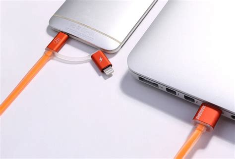 Kabel Data Charger Braided Iphone Dap Dbl 100 24a Quality 30 remax high speed sided micro usb lightning rc 020t orange jakartanotebook