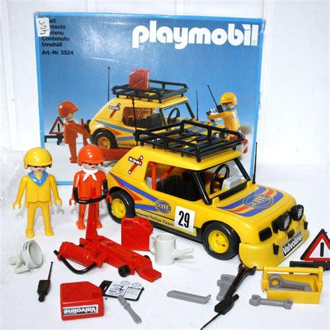 Rally Auto Playmobil by 3524 Voiture Rallye Playmobil Avec Boite Play Original