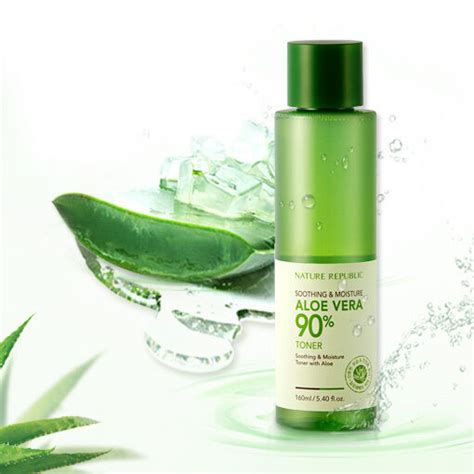 Nature Republic Aloe Vera Soothing Toner nature republic sooting moisture aloe vera 90 toner