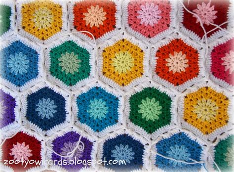 difference between pattern and motif zooty owl s crafty blog rainbow hexagon motif pattern