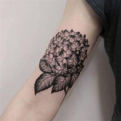 hydrangea tattoo 20 splendid hydrangea designs serum hydrangea