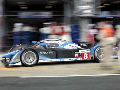Schnellstes Auto In Le Mans by Le Mans 2009 220 Berlegener Doppel Sieg F 252 R Peugeot Beim 24