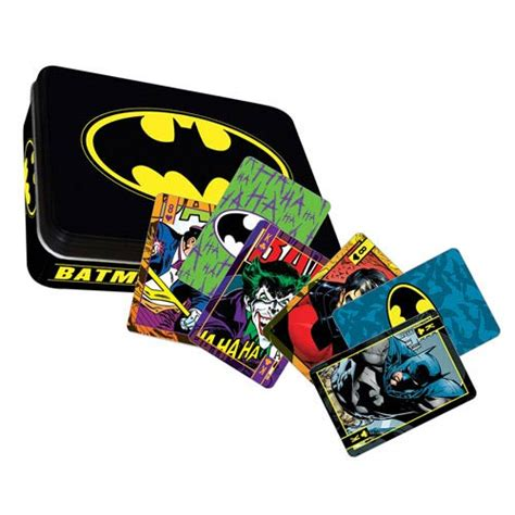 Dc Gift Cards - batman dc comics playing card tin