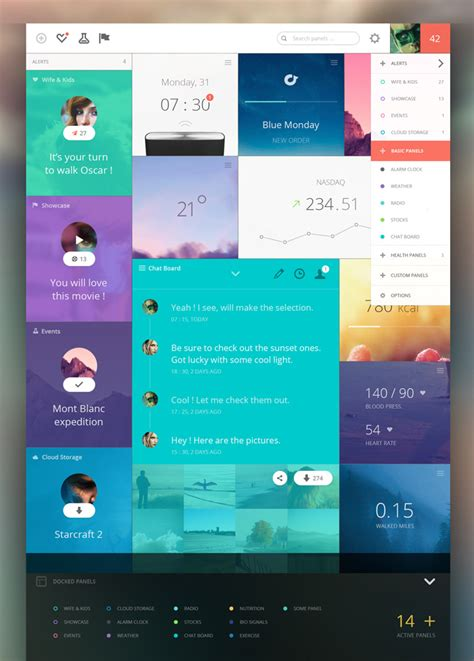 20 Awesome Dashboard Designs That Will Inspire You | 20 awesome dashboard designs that will inspire you idevie