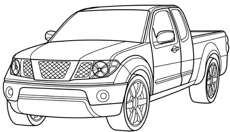 ford trucks coloring page 40 free printable truck coloring pages download