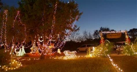 wimberley lights trail of lights and tree lighting in wimberley an