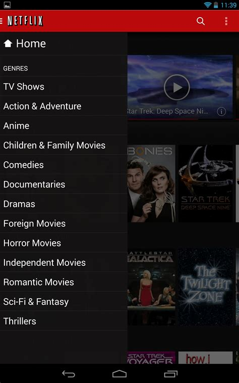 netflix app for android netflix 3 0 for android comes with a new design