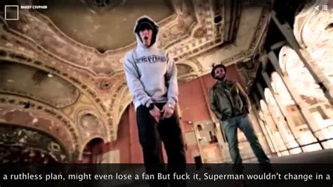 eminem xv cypher lyrics eminem cypher shady xv lyrics on screen youtube