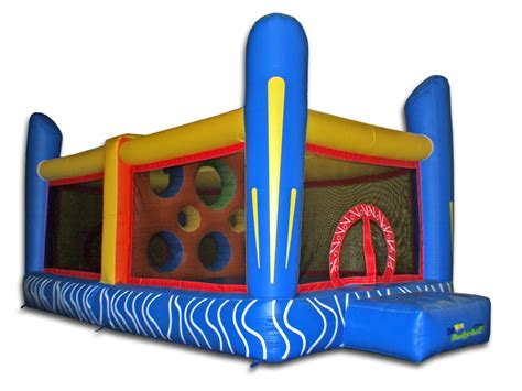 inflatable jump house jump n dodgeball commercial inflatable bouncer