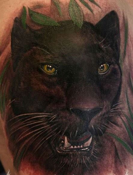 wonderful watercolor black panther tattoo tattooimages biz