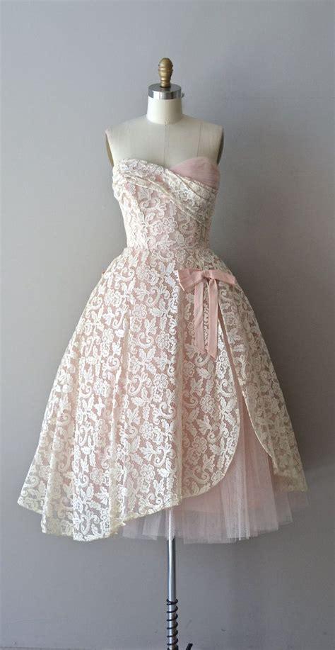 ch 226 teauroux lace dress 1950s dress vintage lace 50s