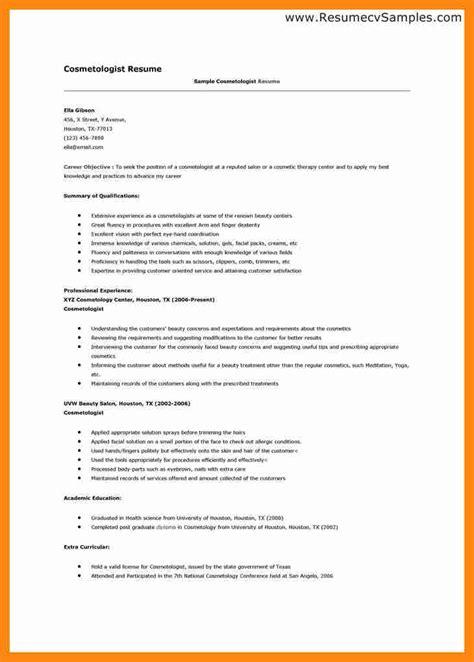cosmetology student resume 6 cosmetology student resume graphic resume