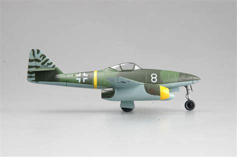 A1toys Easy Model Me 262 A 1a White 8 Pesawat Tempur Da ww2 german me 262 a 1a schwalbe white 8 jet plane aircraft diecast easy model