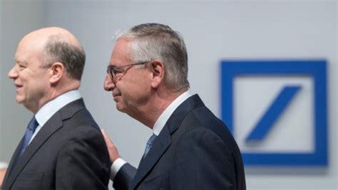 börsenkurs deutsche bank teure skandale deutsche bank bittet ex manager zur kasse