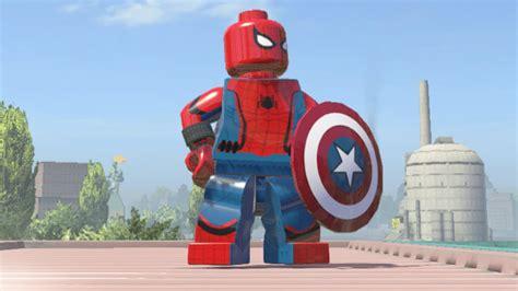 Lego Kw Captain America Civil War Costume Minifigure lego marvel heroes captain america civil war