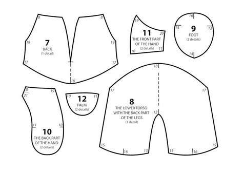 t shirt pattern for a teddy bear teddy bear 183 how to make a bear plushie 183 sewing on cut