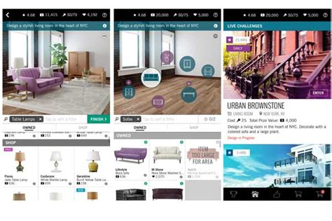 home interior design app an interior decorating game makes waves sa d 233 cor