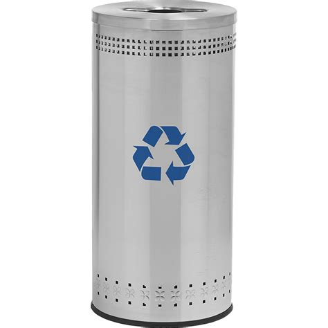 stainless steel recycling bins decorative recycling bins