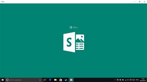 Microsoft Baru technoblog microsoft sway cara baru untuk menilkan presentasimu lebih interaktif