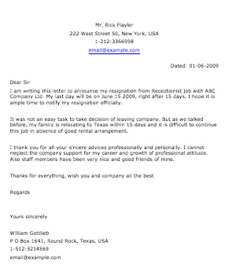Resignation Letter On Terms by Search Results For How To Write A Resignation Letter For A Calendar 2015