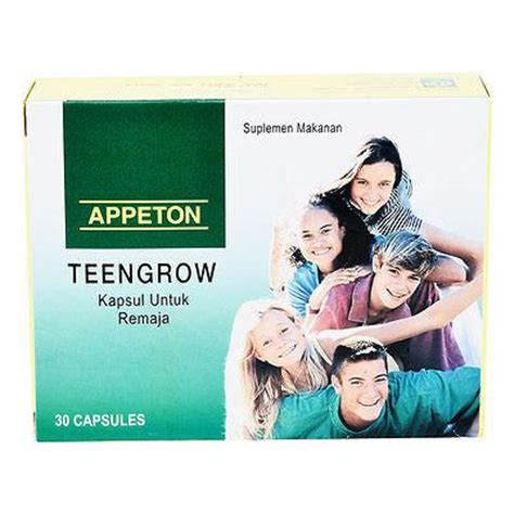 Appeton Grow appeton multivitamin teengrow increase immune and s