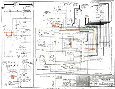kohler generator wiring diagram 31 wiring diagram images