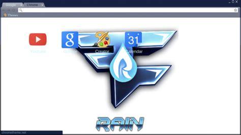 chrome themes rain faze rain chrome theme themebeta