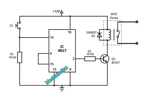 toggle switch circuit mechatrofice